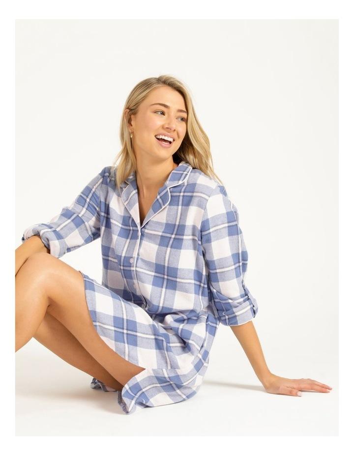 Yarn Dyed Flannel Nightshirt image 2