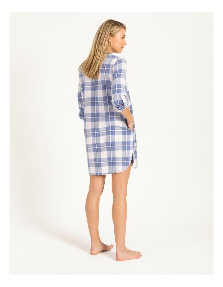 Yarn Dyed Flannel Nightshirt image 3