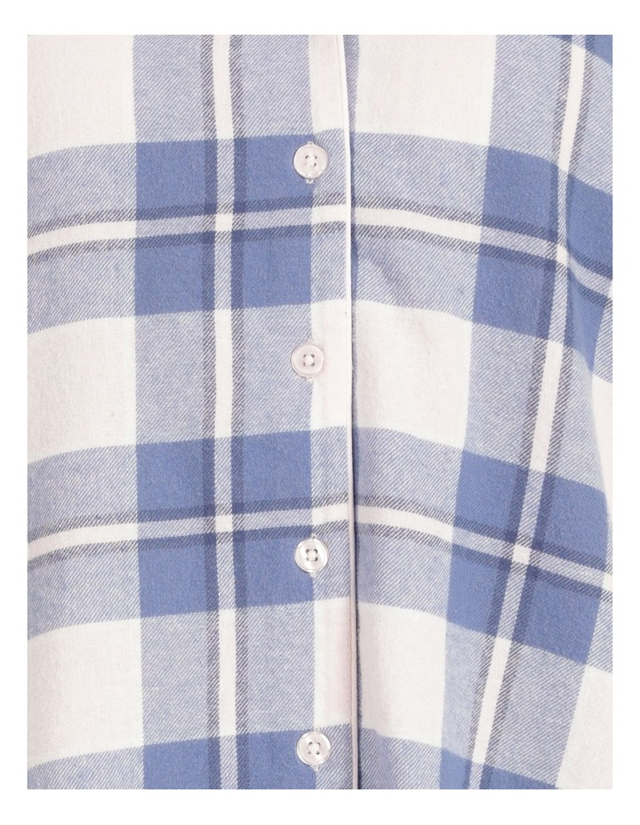 Yarn Dyed Flannel Nightshirt image 4