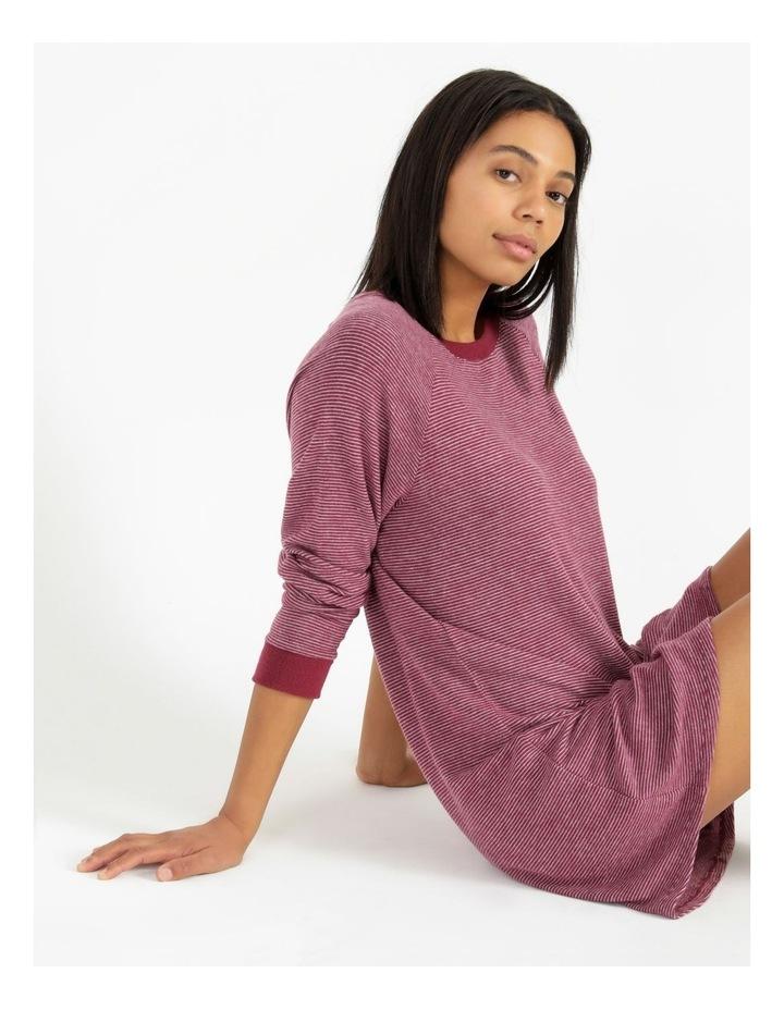 Core Knit Brushed Long Sleeve Nightie image 2