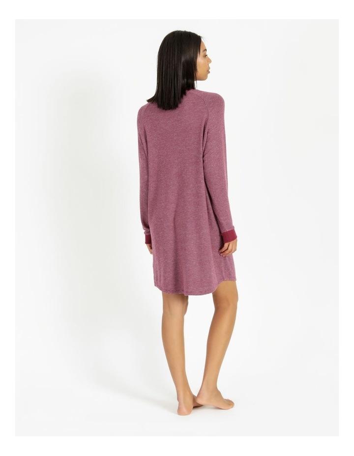 Core Knit Brushed Long Sleeve Nightie image 3