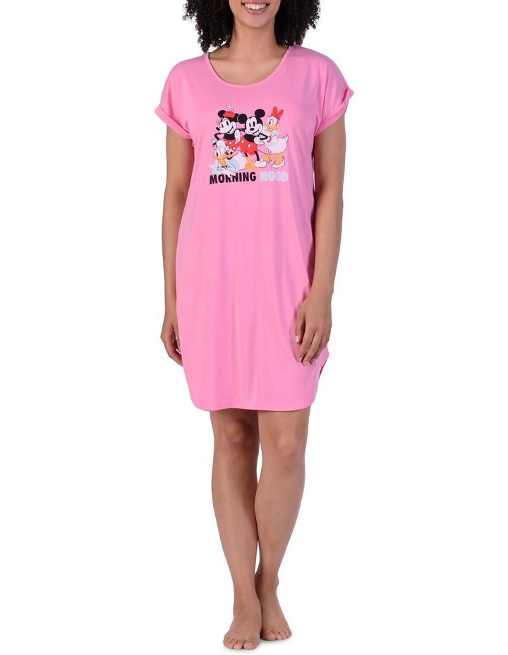 Women'S Mickey Mouse Knit Short-Sleeve Nightie image 1