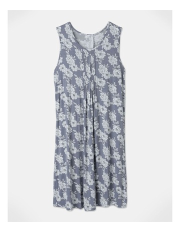 Grey Linear Floral P colour