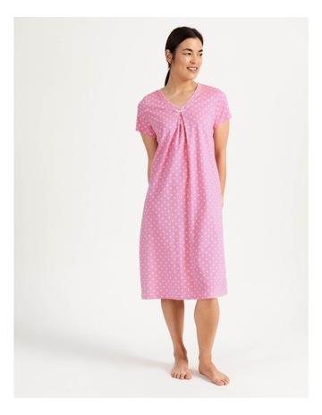 Pink Geo Print colour