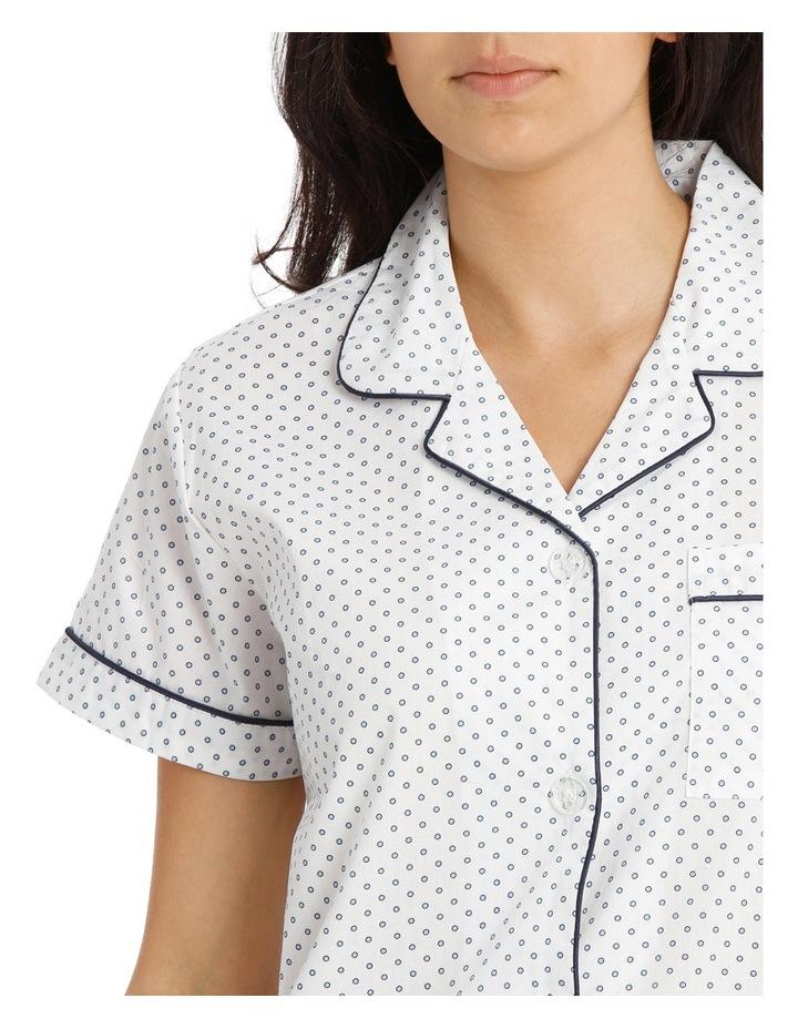 Soho Basics Short Sleeve PJ 3/4 Pant Set SSOW18030 image 3