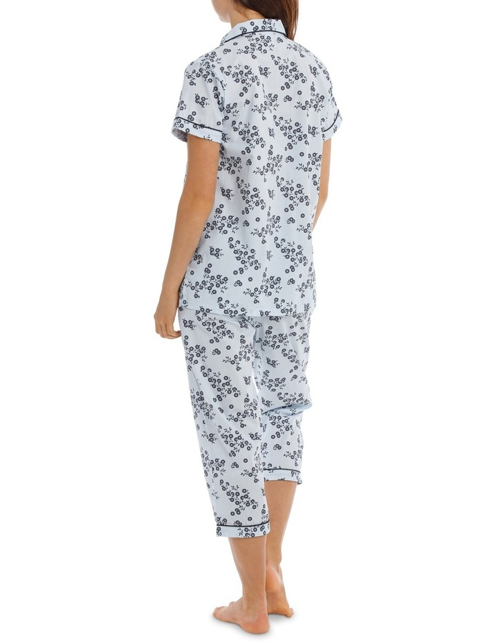 Soho Basics Short Sleeve PJ 3/4 Pant Set SSOW18030 image 2