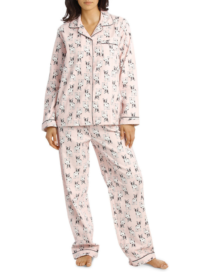 Basics Full Flannel Pj Set image 1