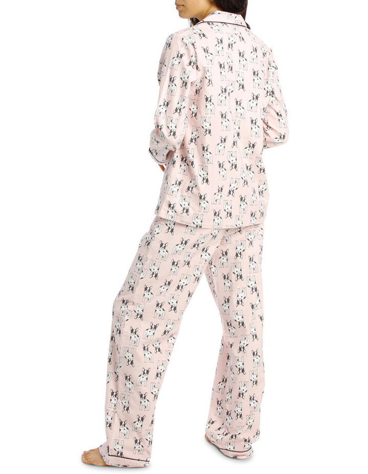Basics Full Flannel Pj Set image 2