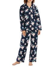 W18 Basics PJ's Full Flannel Pj Set SSOW18002