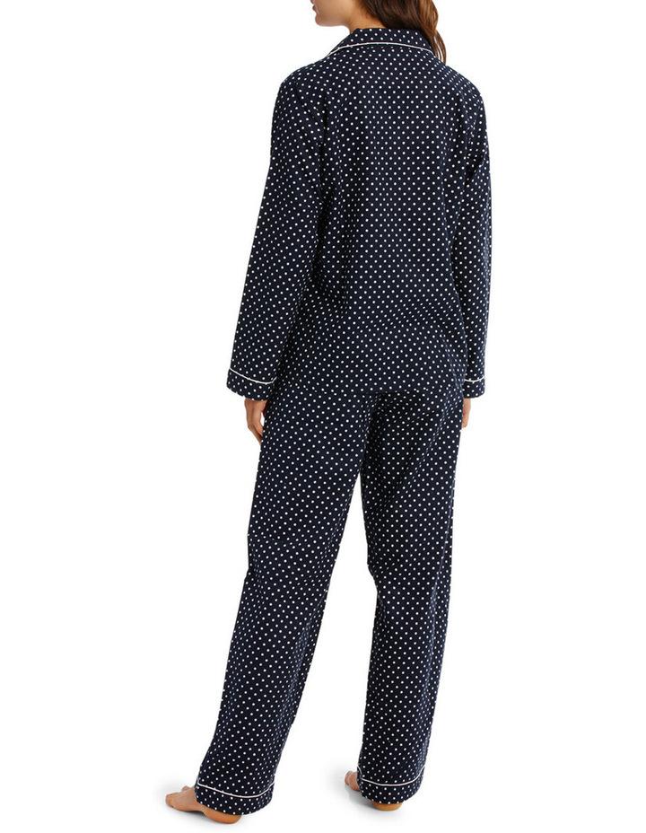 Basics Pajama's Full Flannel Pajama Set SSOW18002 image 2