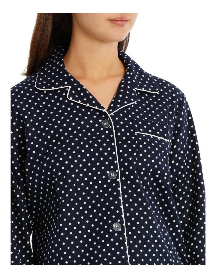 Basics Pajama's Full Flannel Pajama Set SSOW18002 image 3