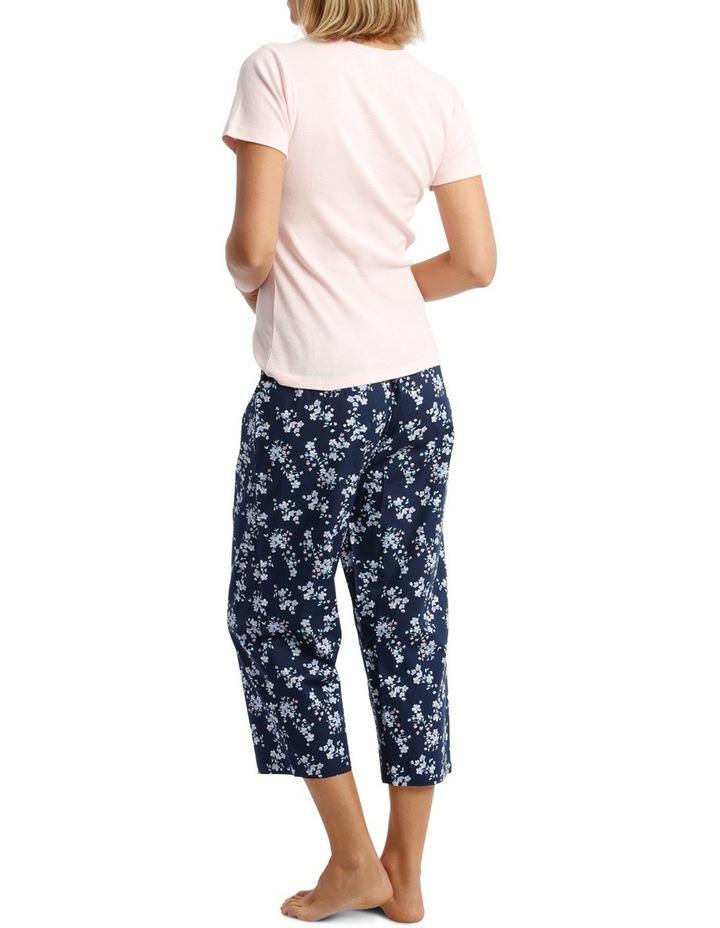 S19 Basics PJ's Short Sleeve PJ Tee Set SSOS19004 image 2