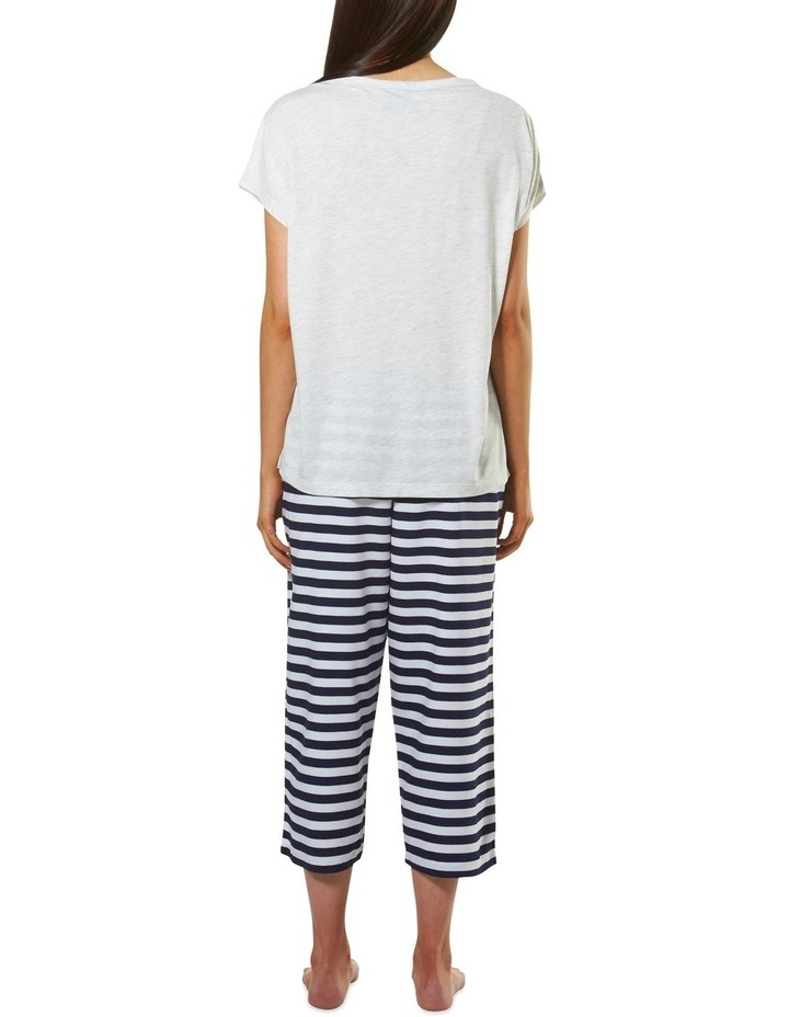 Harry Potter Knit S/S Top with Woven 3/4 Pant PJ Set image 3