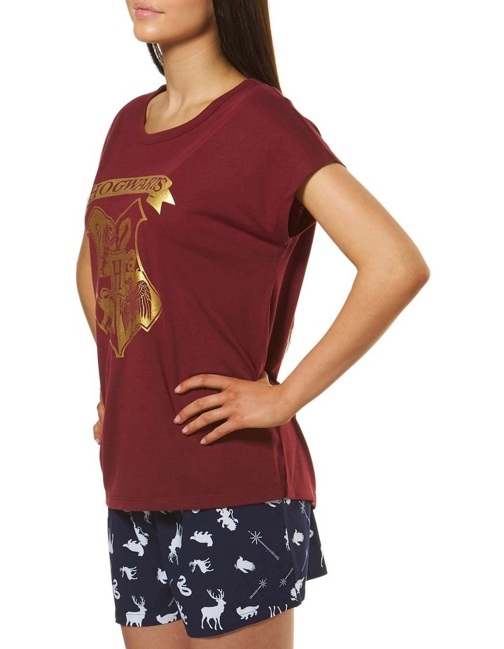 Harry Potter Knit S/S Top with Woven Short PJ Set image 3