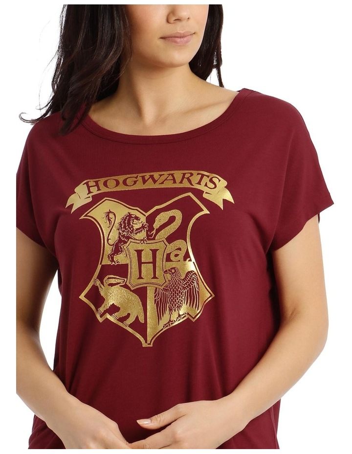 Harry Potter Knit S/S Top with Woven Short PJ Set image 6