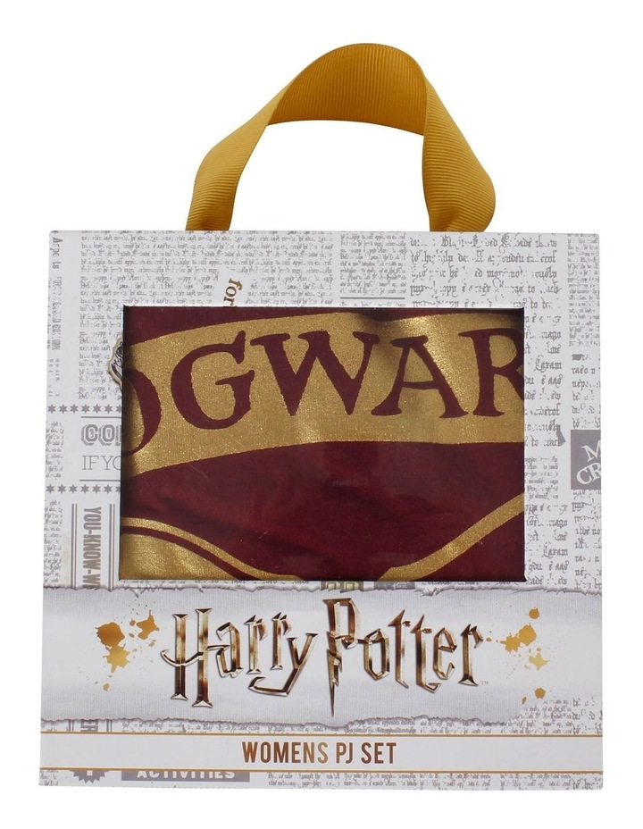 Harry Potter Knit S/S Top with Woven Short PJ Set image 7
