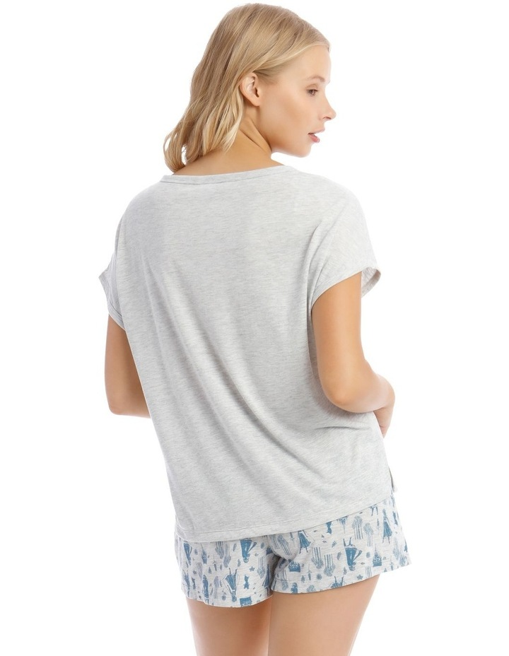 Frozen Knit Top & Short Pyjama Set image 2
