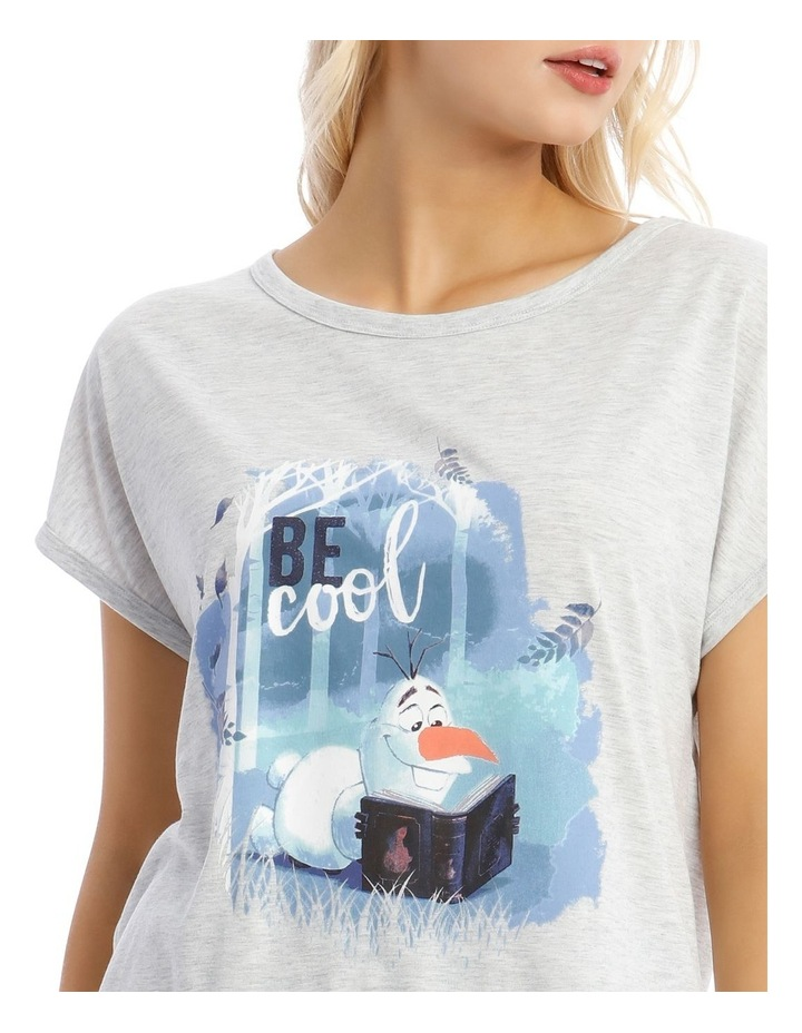 Frozen Knit Top & Short Pyjama Set image 3