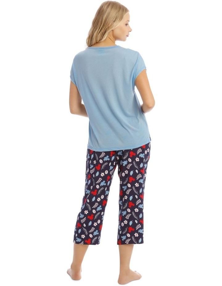 Mickey Mouse Top & Pant Pyjama Set image 2