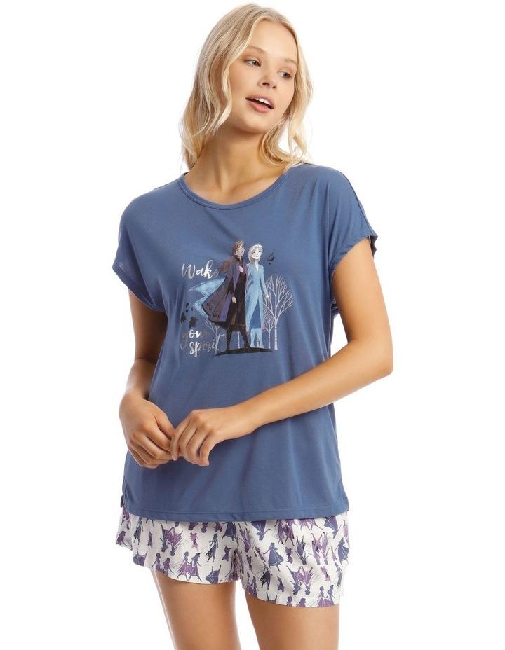 Frozen Top & Short Pyjama Set image 1