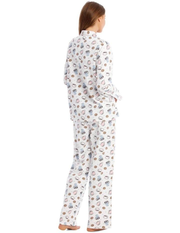 Full Flannel Hot Chocolate Print Pyjamas image 3