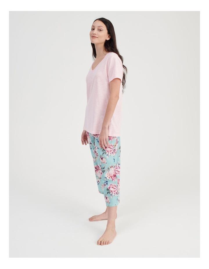 V-Neck 3/4 Pyjama Set image 2