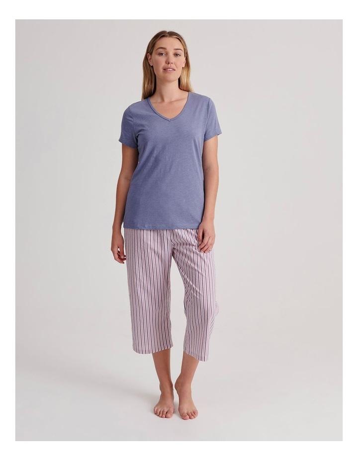 V-Neck 3/4 Pyjama Set image 1