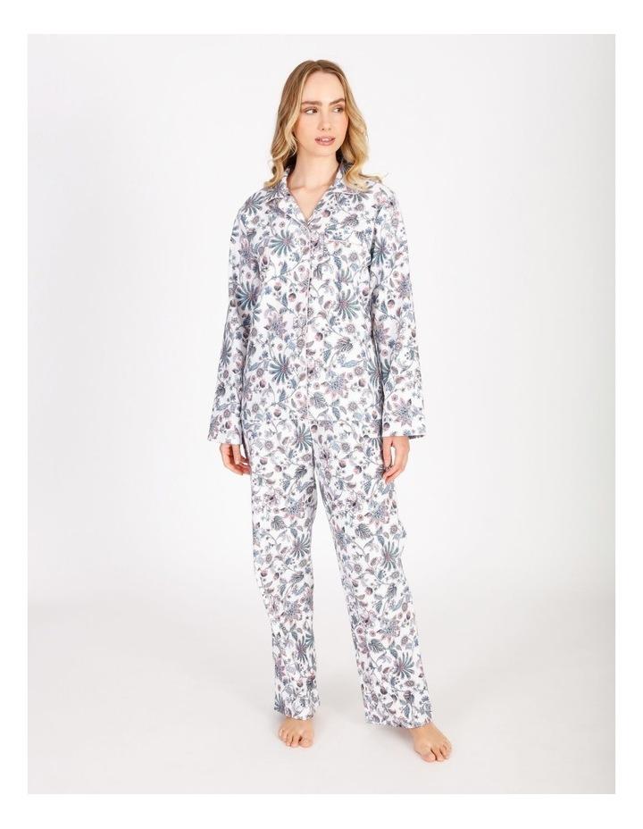 Full Flannel Pyjama Set image 1