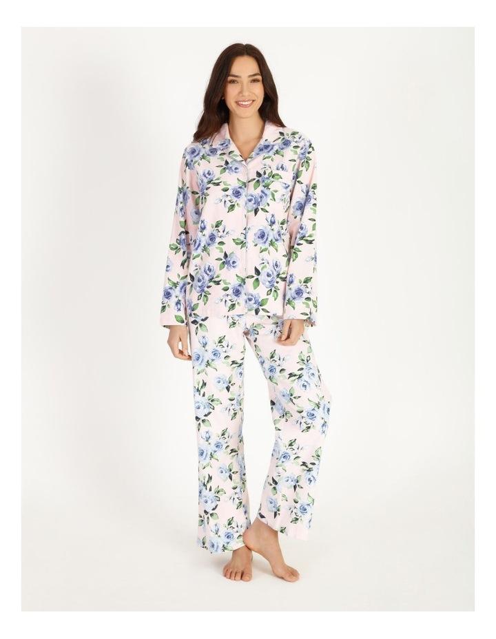 Full Flannel PJ Set image 1