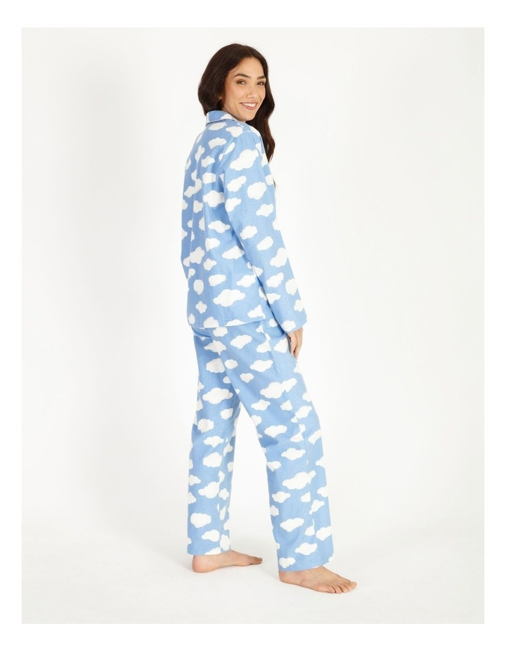 Full Flannel PJ Set image 2