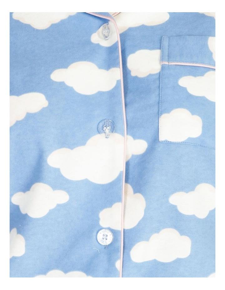 Full Flannel PJ Set image 4