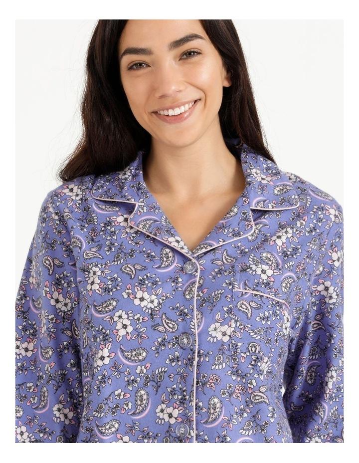 Full Flannel PJ Set image 3