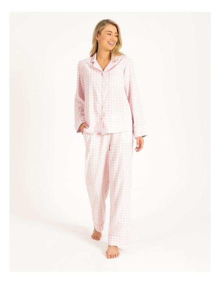 Yarn Dyed Flannel Long PJ Set image 1