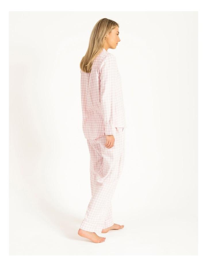 Yarn Dyed Flannel Long PJ Set image 2
