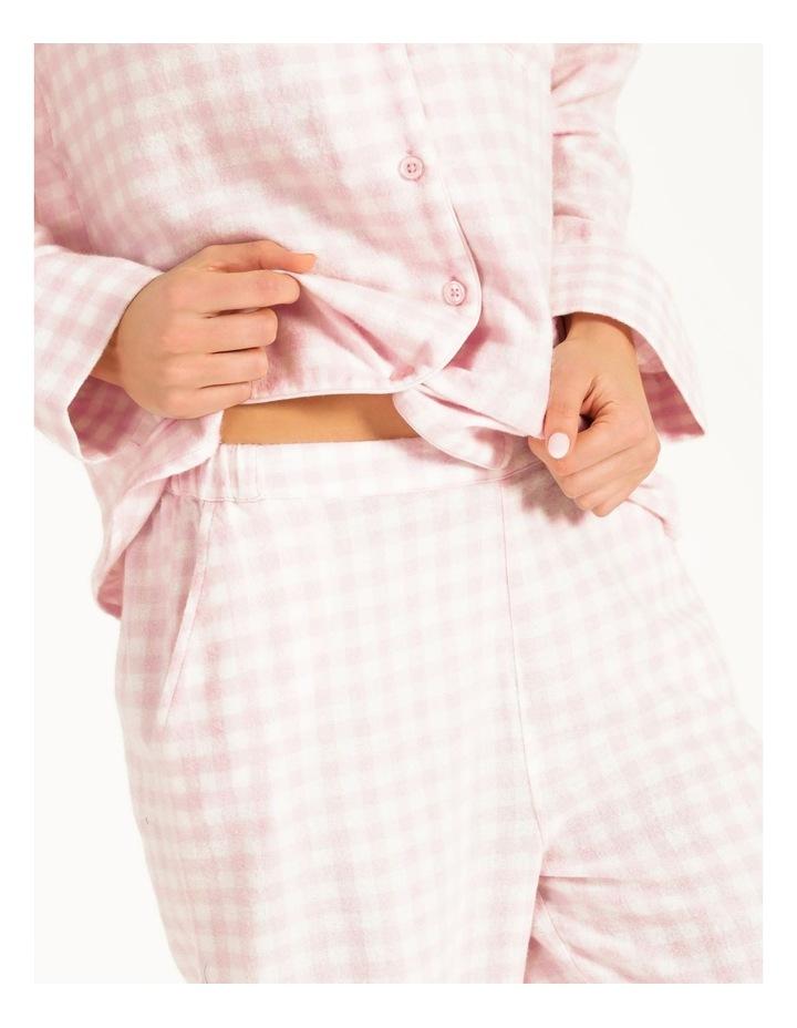 Yarn Dyed Flannel Long PJ Set image 3
