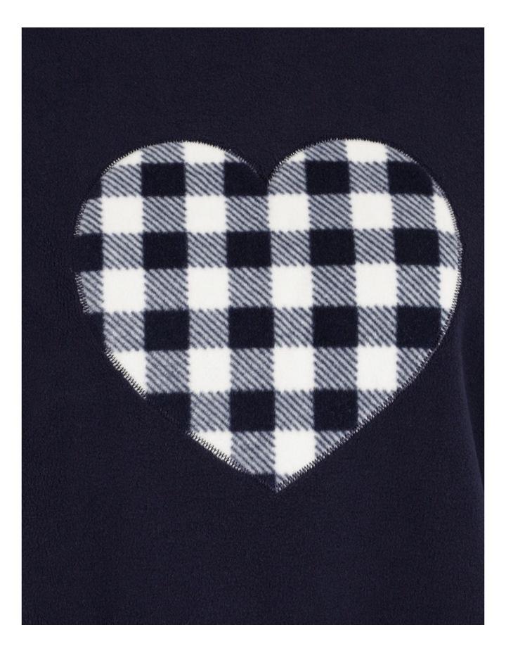 Knit Fleece Long Sleeve PJ Set image 5