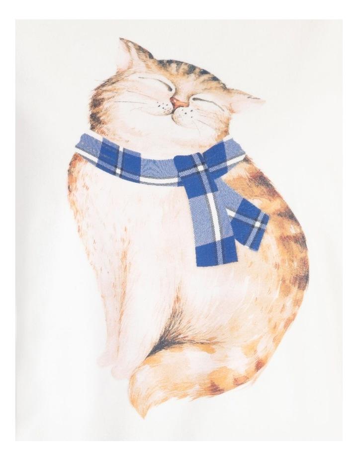 Knit Fleece Long Sleeve PJ Set image 4