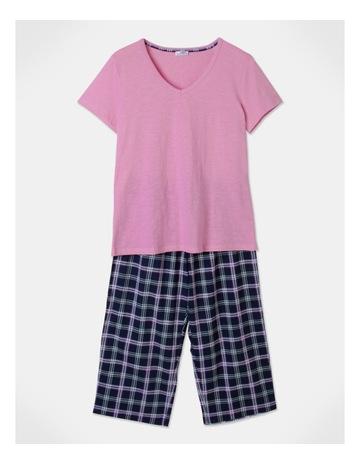 Pink/Navy Check colour
