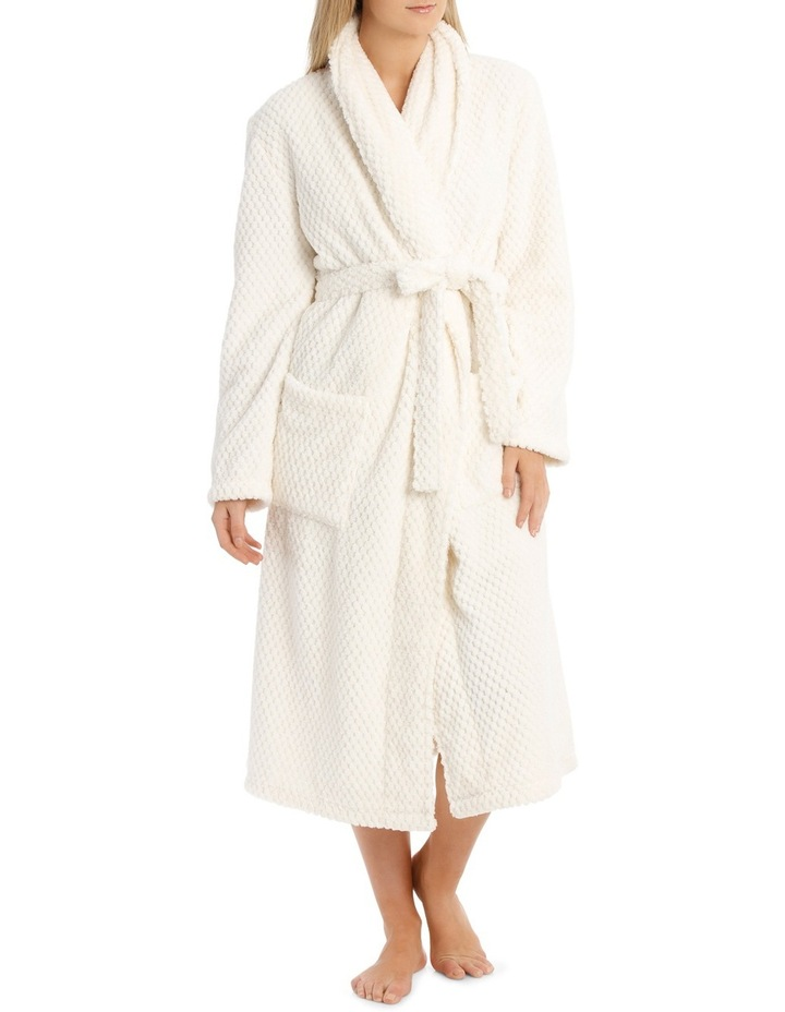 Coral Fleece Textured Robe SSOW18004 image 1