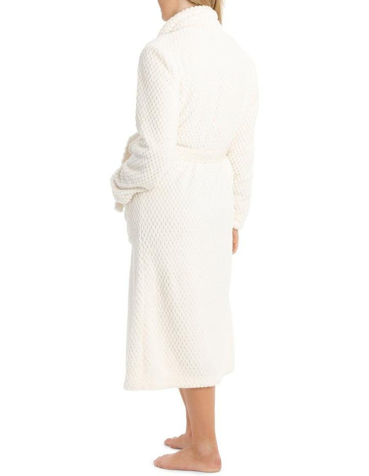 Coral Fleece Textured Robe SSOW18004 image 2