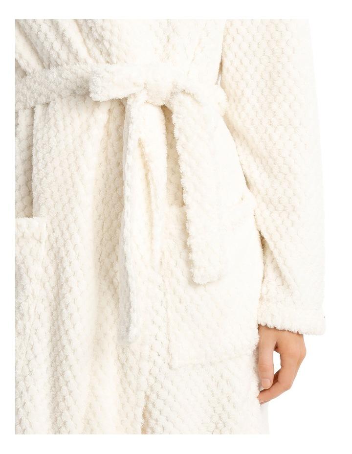 Coral Fleece Textured Robe SSOW18004 image 3