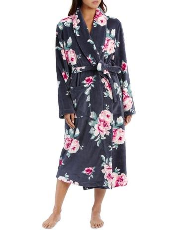88d2d1dd08 SohoW19 Soho Basics Robes Coral Fleece Printed Robe SSOW19003P. Soho W19  Soho Basics Robes Coral Fleece Printed Robe SSOW19003P