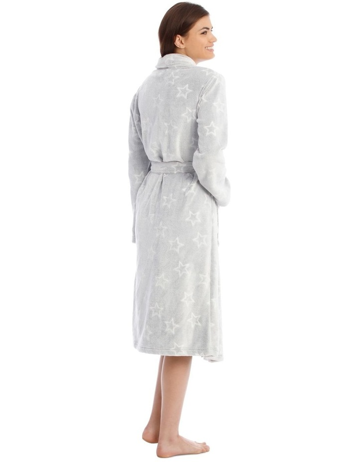 Textured Robe in Grey image 2