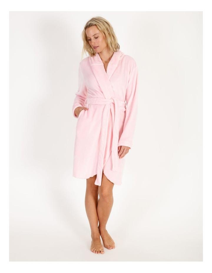 Short Fleece Robe image 1
