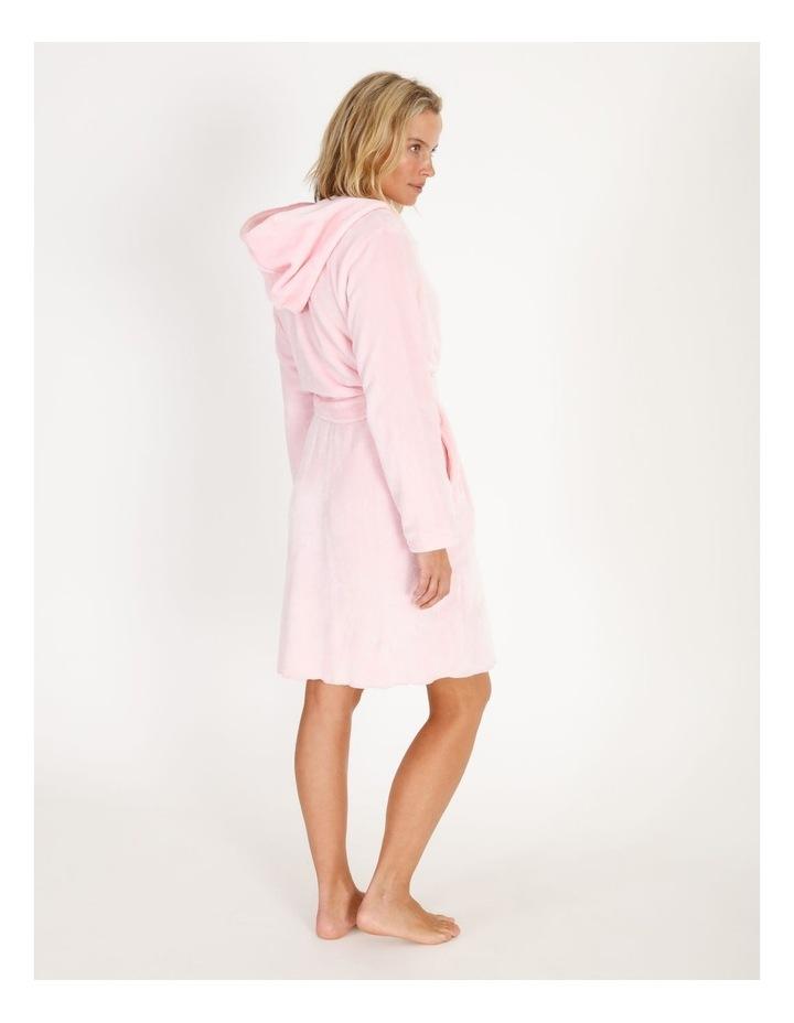 Short Fleece Robe image 2