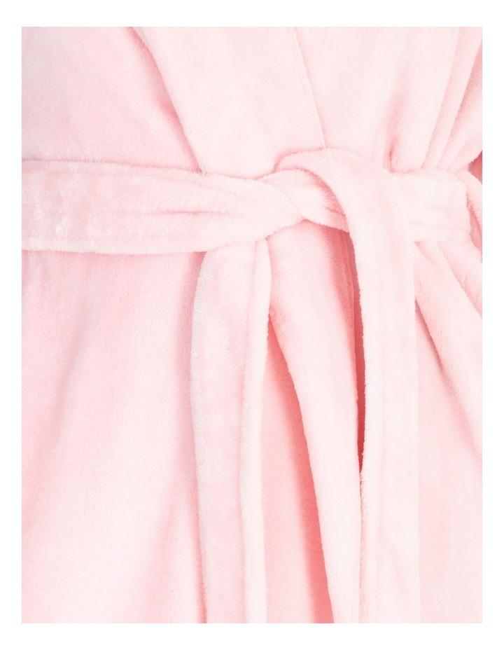 Short Fleece Robe image 4