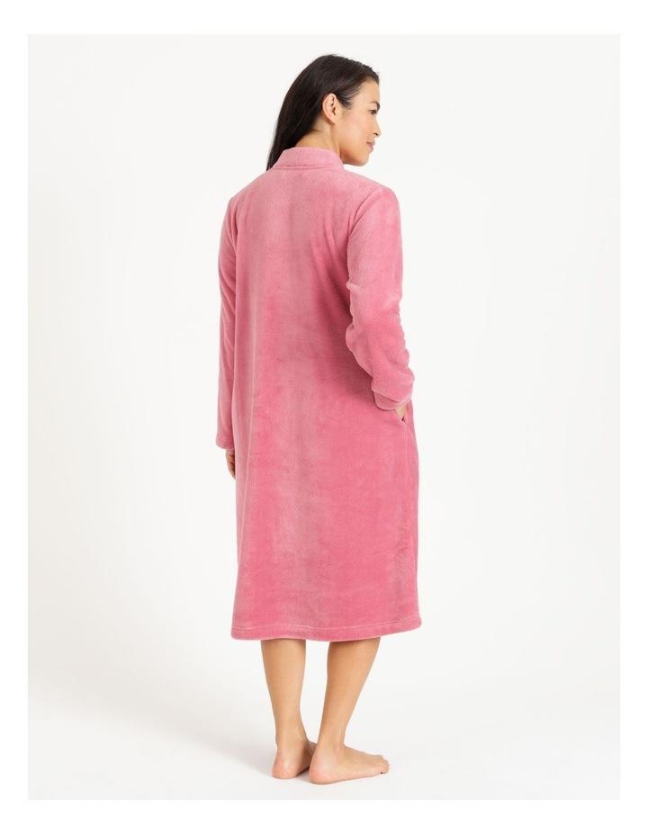 Fleece Button Through Robe image 2
