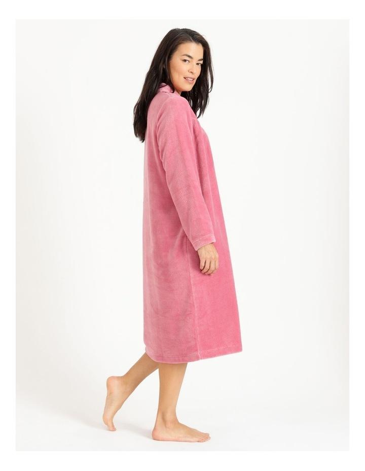 Fleece Button Through Robe image 3