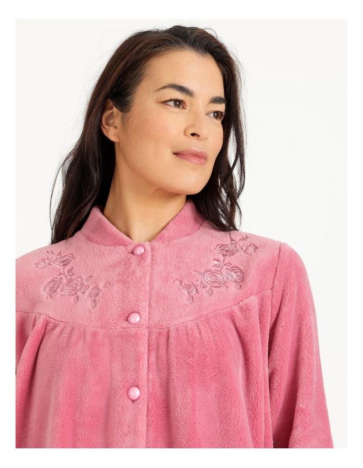 Fleece Button Through Robe image 4