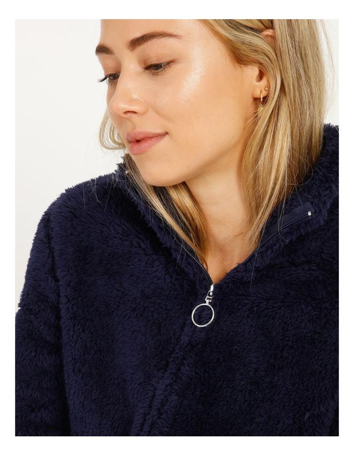 Woven Fleece Zip Jumper image 4